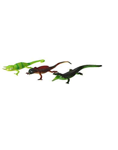 TommyChew Reptiles Dog Toy (Pack Of 3)