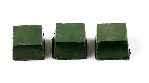 VERY100 Leather Strop Sharpening Polishing Compounds (Green)(3pcs) (Knife Sharpening Compound compare prices)