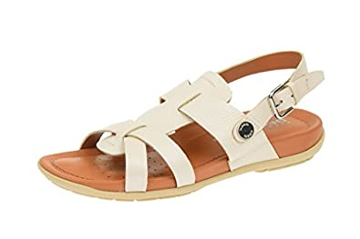 Geox , Sandales pour femme Marron marron: Chaussures et