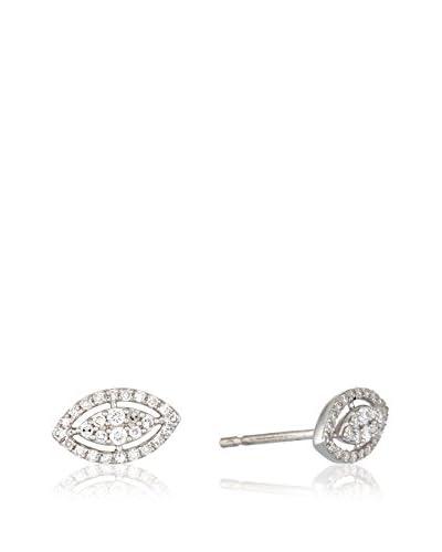 PARIS VENDOME Pendientes Feuille de diamants