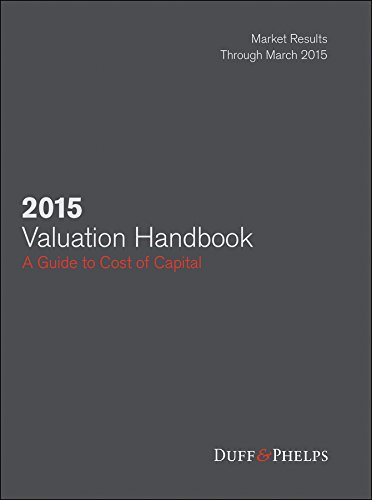 2015 Valuation Handbook: Guide to Cost of Capital (Wiley Finance) (Alternative Investment Valuation compare prices)