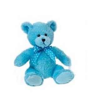 Cuddle Hi Mink Blue Teddy Bear 12