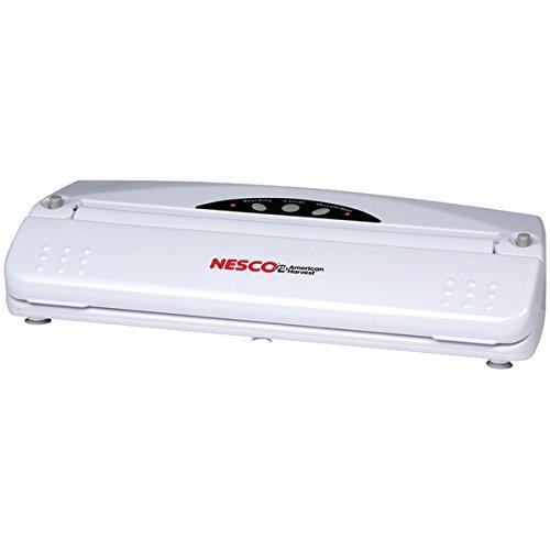 Nesco Vacuum Sealer (110-Watt; White)