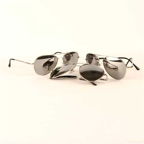 3 Pack Premium Spring Mirrored Lens Aviator