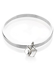 Autograph Triangle Charm Bangle Set MADE WITH SWAROVSKI® ELEMENTS