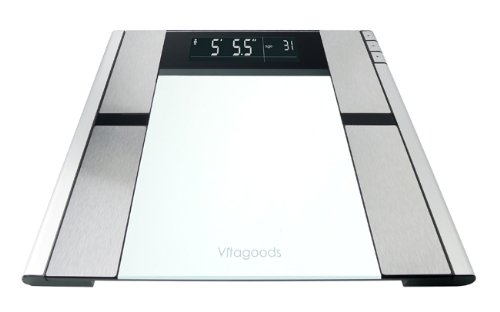 vitagoods digital body analyzer scale vgp 3000 amazoncom alba pmclas chromy