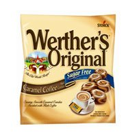 Werther's Original Hard Candy, Sugar Free, 2.75-Ounce Bags (Pack of 12)