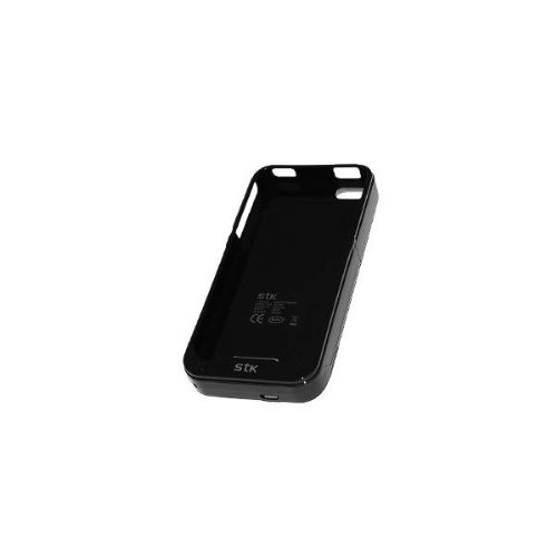 STK iPhone 4 / 4S Power Case schwarz (MFI approved)