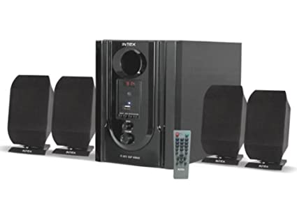 Intex IT-301 FMU 4.1 Channel Multimedia Speaker