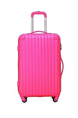 [トラベルハウス]Travelhouse スーツケース [SS ローズ] キャリーバッグ TSA ファスナー 4輪