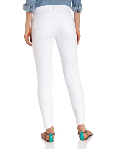 KUT from the Kloth Women's Audrey Denim Ankle Skinny Jean, White, 16