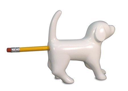 bleistiftspitzer-sharp-end-dog-weiss