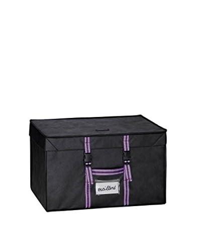 Compactor Caja «Family» Cuadrada Ahorra Espacio c/Funda 100 L
