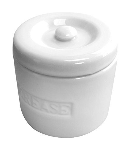 Porcelain Grease Container (Bacon Grease Strainer compare prices)