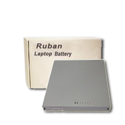 Ruban 60wh, 10.8v, 6 Cells New Laptop Replacement Battery for Apple Macbook Pro 15 . Replacement for A1175 Ma348 Ma348*/a Ma348g/a Ma348j/a
