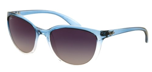 Ray-Ban RB4167 Emma Cateye Sunglasses 59 mm, Non-Polarized, Blue On Transparent/Blue Gradient