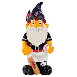 Cleveland Indians Thematic 11 inch Garden Gnome by Forever Collectibles
