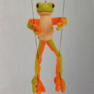 "Sunny Toys 16"" Tree Frog Marionette - 1"