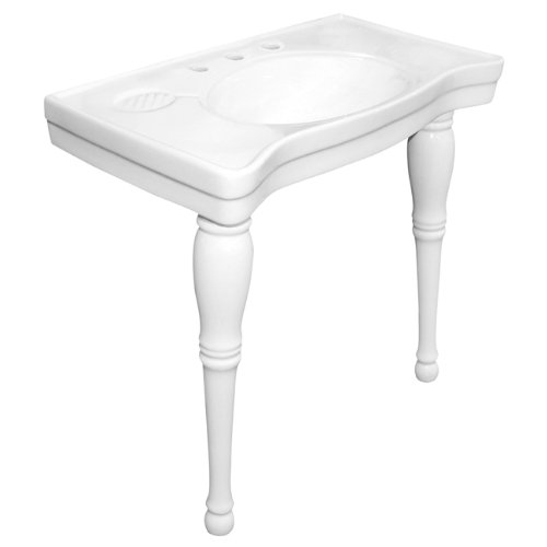 Cheapest Prices! Elements of Design EVPB1368 Designer Fauceture Imperial Bain Vitreous China Console...