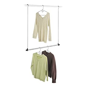 Double Hang Closet Rod