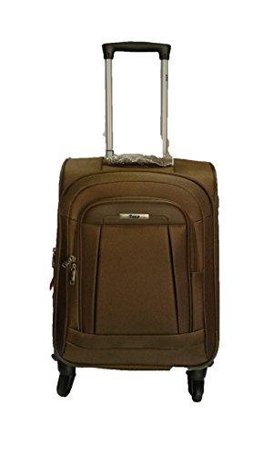 Vip VIP Ebonylite Nylon 55 (Cms) Brown Softsided Suitcase (STEBON58BRN) Small Luggage