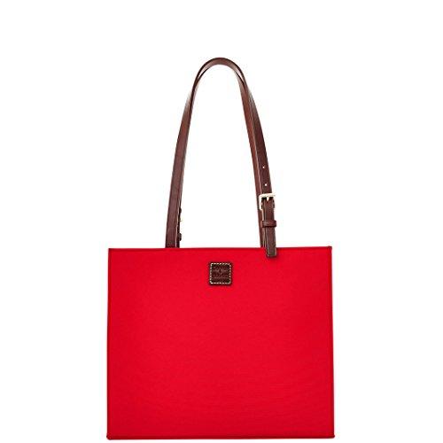 Dooney & Bourke Women`s Simply Janine Satchel, Large, Red