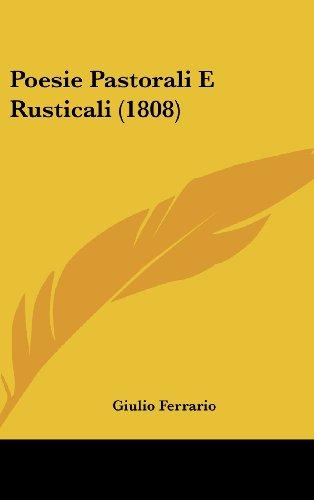 Poesie Pastorali E Rusticali (1808)