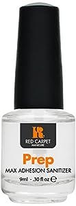 Red Carpet Manicure Prep Max Adhesion Sanitizer - .30 Oz