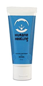 Humane Healing Dog Wound Ointment, 2-Ounce