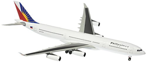 Gemini Jets Philippine A340-300 Diecast Aircraft, 1:200 Scale (Airbus A340 Model compare prices)