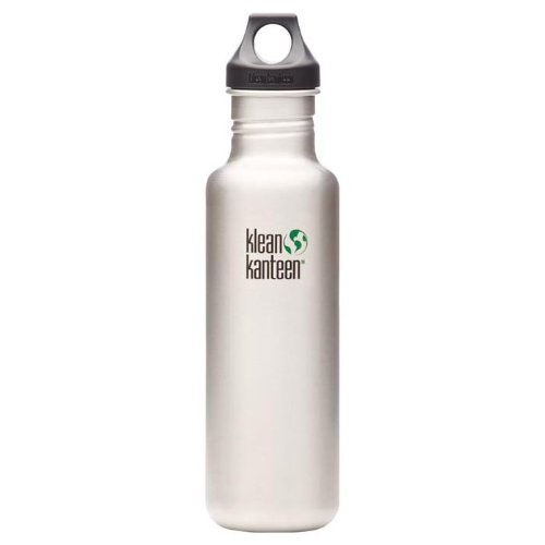 Klean Kanteen 27Oz With Loop Cap Stainless front-888917