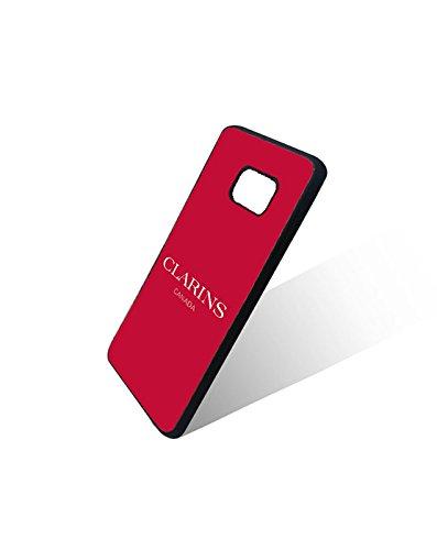 Cute Samsung Galaxy S6 Edge Custodia Case Brand Clarins Logo Modello Slim Style Protect Your Phone(Galaxy S6 Edge), Clarins Paris Cellulari Anti scivolo Design