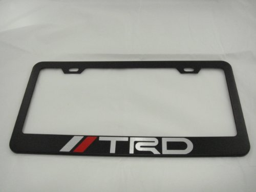 Toyota TRD Black License Plate Frame (Black Trd License Plate Frame compare prices)