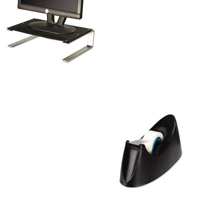 KITASP29248UNV15001 - Value Kit - Allsop Redmond Monitor Stand (ASP29248) and Universal Desktop Tape Dispenser (UNV15001) kitswi3747308unv10200 value kit swingline selfseal clear laminating sheets swi3747308 and universal small binder clips unv10200