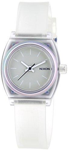 nixon-damen-armbanduhr-xs-small-time-teller-p-translucent-analog-quarz-plastik-a4251779-00