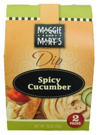 Maggie And Marys Spicy Cucumber Dip Mix 2 Pack by Maggie and Mary's