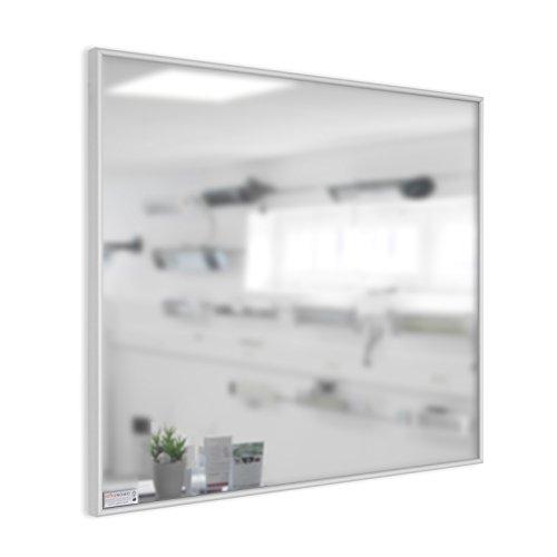 infrarotheizung spiegel mit aluminium rahmen 10mm 600 watt spar baumarkt. Black Bedroom Furniture Sets. Home Design Ideas