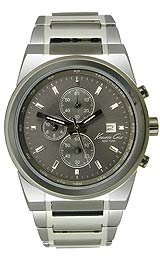 Kenneth Cole New York Steel Bracelet Gunmetal Dial Men's watch #KC3909