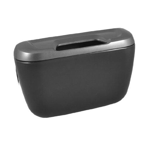 Amico Black Grey Plastic Vehicles Automobile Goods Car Trash Bin Garbage Box Container