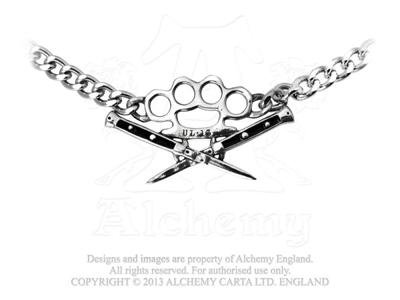 New Switchblade Choker by Alchemy Gothic, England