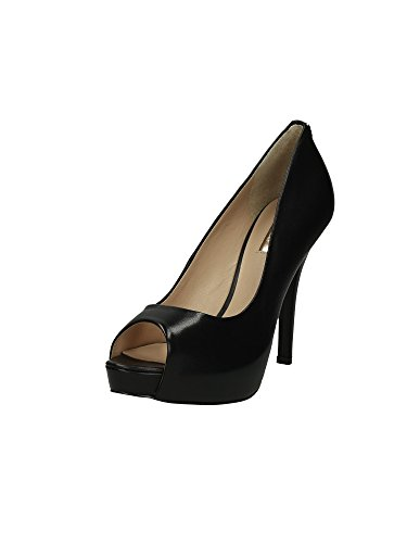 Guess Decollete Donna Scarpe Helena Spuntata Open Toe Tacco Cm 11 Pl Cm 2,5 Leather,37