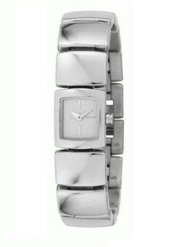 DKNY NY4485 - Reloj analógico de cuarzo para hombre con correa de acero inoxidable, color plateado