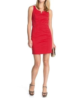 ESPRIT - 044EE1E029 mit Rückenausschnitt Robe Femme - Rouge (VERMILLION RED 698) - FR : 40 (Taille fabricant : 38)