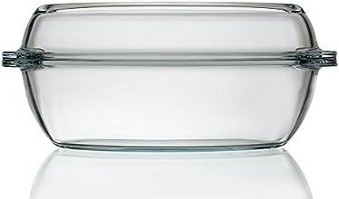 Schott Zwiesel 2.9L Glass Oval Casserole Dish With Lid