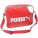 Puma Campus Report Messenger Bag Red -