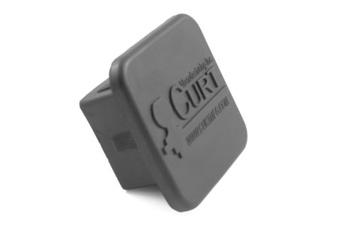 CURT 22272 2 In. Black Rubber Tube Cover