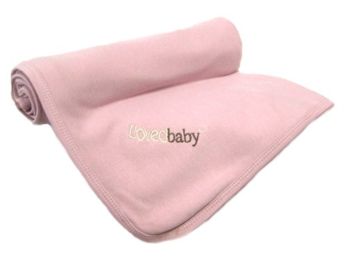 L'ovedbaby Swaddling  Blanket Think Pink
