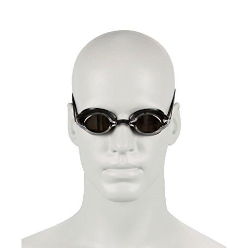 Speedo SpeedSocket Goggles Occhialino da gara, Adulto, Nero