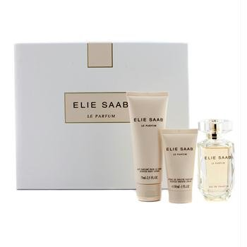 Elie Saab Le Parfum Geschenkset 50ml EDT + 30ml Shower Cream + 75ml Körperlotion