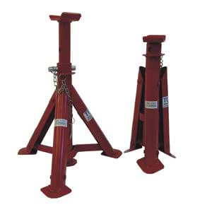 2 TON FOLDING JACK STAND, One Pair (2-Pieces)